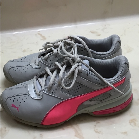 Puma Other - Gray and Pink Puma Sneakers